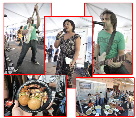 SXSW '08 Exclusive: Rachael Ray's BBQ, Husband's Band