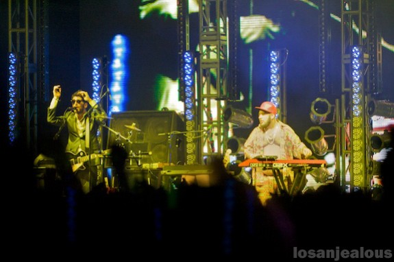 Coachella 2008: Chromeo & Justice, Sunday