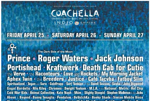 Official Coachella Prince-Inclusive Poster (PIP) 2008: Third Time's A Charm?