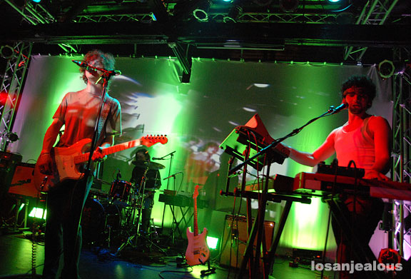 MGMT at the Echoplex on January 26, 2008