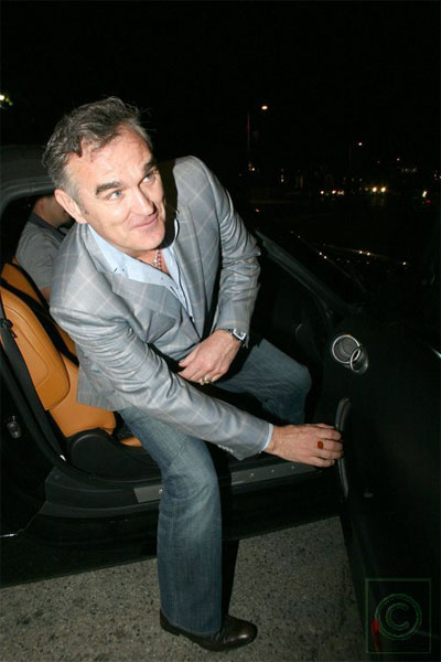 BREAKING: Morrissey Did NOT Eat at STK (UPDATED)