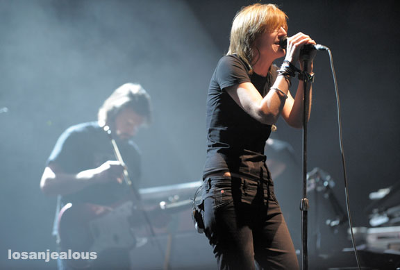 Portishead Is Here–Two Sold Out Shows @ Shrine Expo Hall–Tonight 10/18 & Tomorrow 10/19–Win Tickets for Tomorrow Night