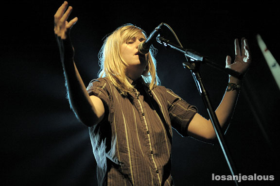Anna Ternheim at the El Rey Theater, May 19, 2008