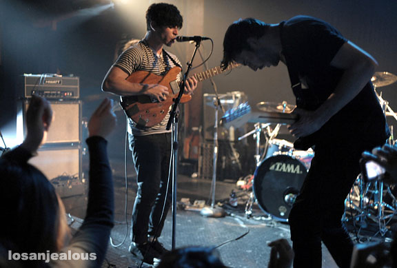 Photos & Notes: Foals @ the Troubadour, May 24, 2008