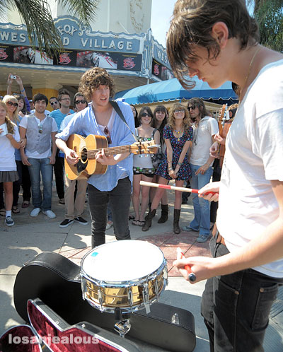 The Kooks in Westwood Village, May 20, 2008