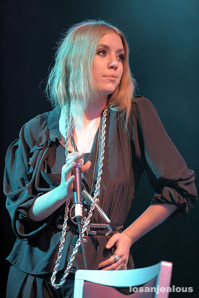 Lykke Li @ El Rey Theatre, May 19, 2008