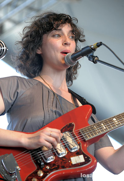 Coachella 2008 Festival Photo Gallery: St. Vincent