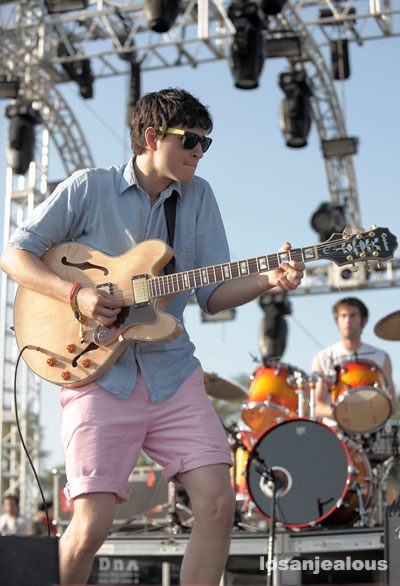 Coachella 2008 Festival Photo Gallery: Vampire Weekend
