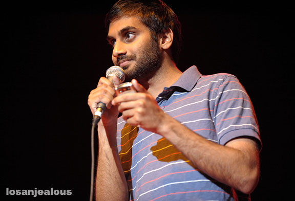 Aziz Ansari at the Orpheum Theater, May 30, 2008
