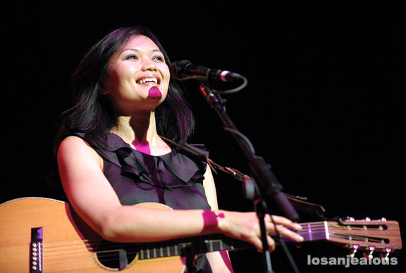 Bic Runga at the Orpheum Theater, May 30, 2008