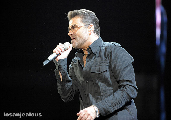 George Michael at The Forum, June 25, 2008