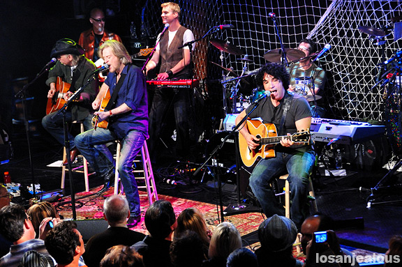 Hall and Oates, Troubadour, May 23, 2008