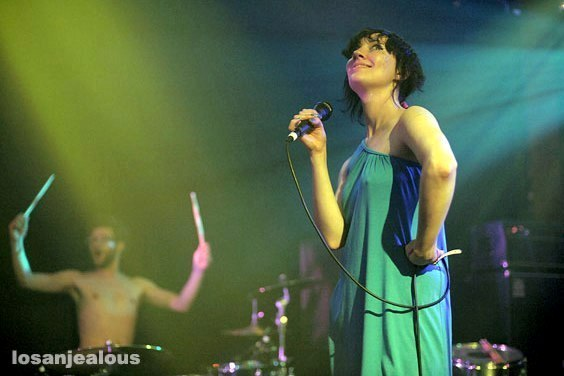 Photos: The Long Blondes @ Troubadour, June 4, 2008