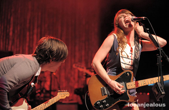 Rilo Kiley at The Greek Theater, June 18, 2008
