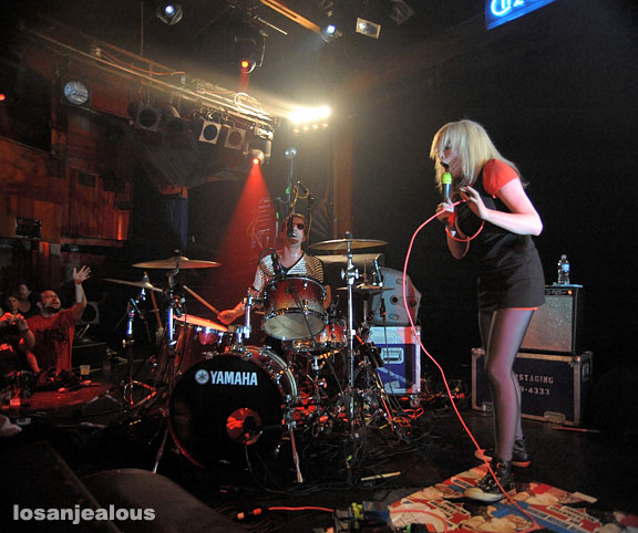 The Ting Tings at the Troubadour, June 13, 2008