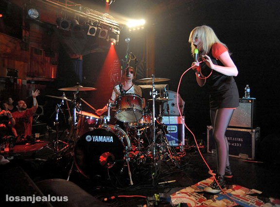 The Ting Tings @ the Troubadour, June 13, 2008