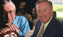 Vin Scully & John Wooden
