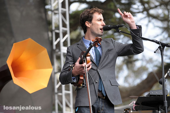 Andrew Bird @ Outside Lands Festival, San Francisco, August 24, 2008