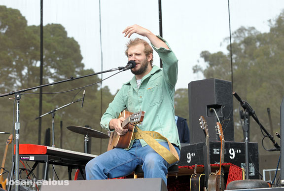 Bon Iver, Outside Lands Festival, Golden Gate Park, San Francisco, August 24, 2008