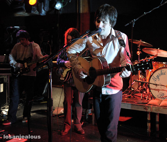 Conor Oberst and the Mystic Valley Band, Troubadour, August 5, 2008