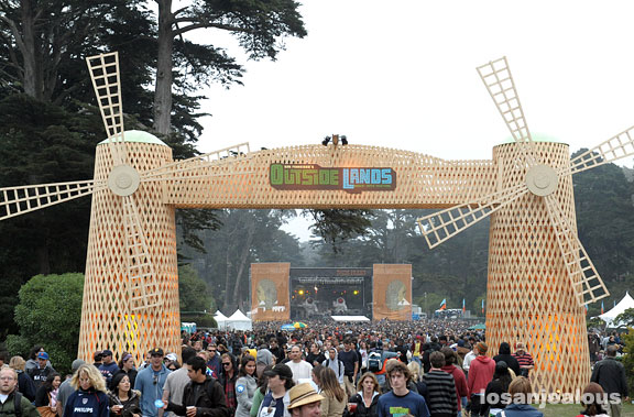 Outside Lands Festival, Golden Gate Park, San Francisco, August 22-24