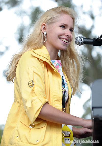 Nellie McKay, Outside Lands Festival, Golden Gate Park, San Francisco, August 23, 2008