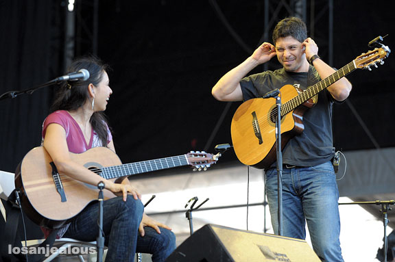 Rodrigo y Gabriela, Outside Lands Festival, Golden Gate Park, San Francisco, August 24, 2008