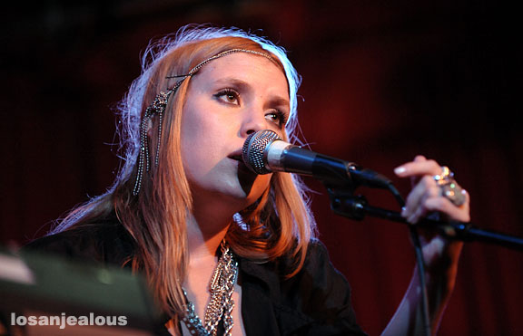 Lykke Li, Hotel Cafe, August 25, 2008