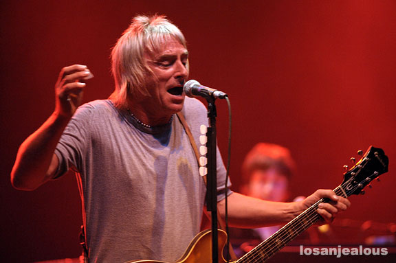 Paul Weller, Wiltern Theater, September 2, 2008