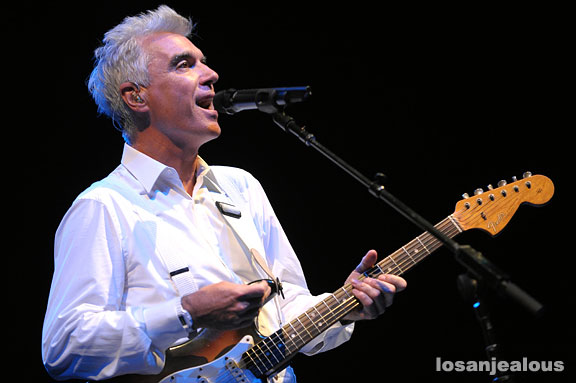 David Byrne, Performing Songs of David Byrne & Brian Eno @ Greek Theater, October 3, 2008