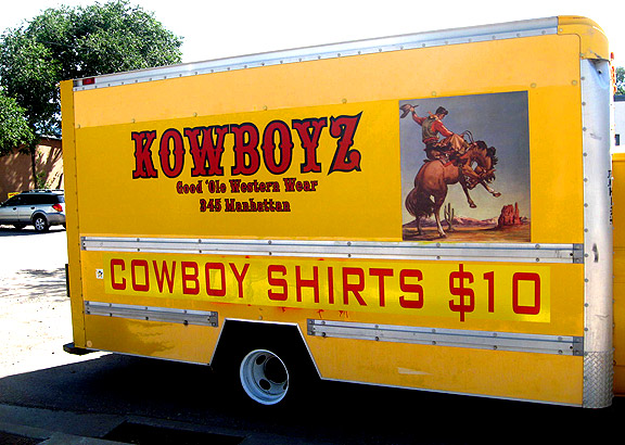 "Beverly Boulevard Transplant ""Kowboyz"" Western Shack On New Life In Santa Fe"