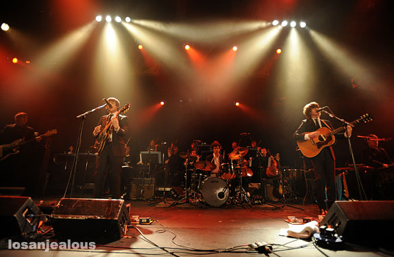 The Last Shadow Puppets, Mayan Theater, November 3, 2008