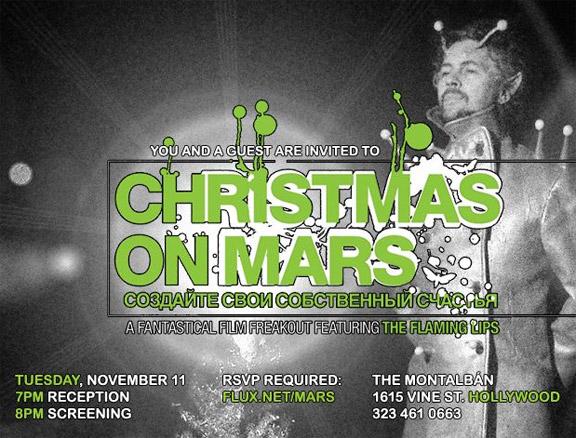 Coyne Brings Mars to Los Angeles