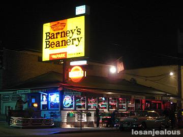 Barney's Beanery, December 8, 2008