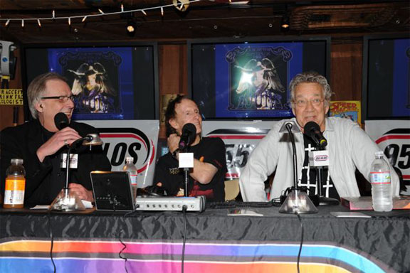 Jim Morrison's 65th Birthday Party Presented by KLOS 95.5 FM Starring Robby Krieger and Ray Manzarek of The Doors, Barney's Beanery, December 8, 2008