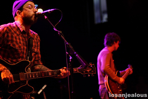City and Colour w/William Elliot Whitmore, El Rey, January 28, 2009