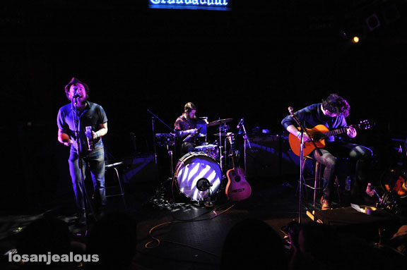 The Cave Singers, Troubadour, January 24, 2009
