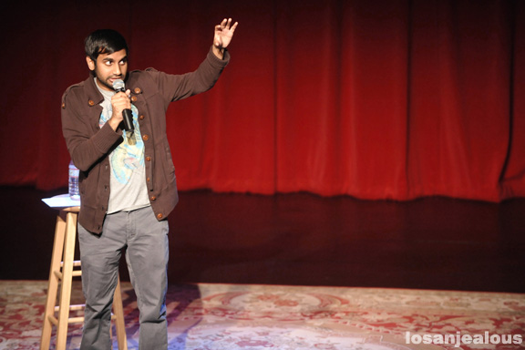 Aziz Ansari, Live, Largo at the Coronet, February 4 (Glow in the Dark Tour Closer)
