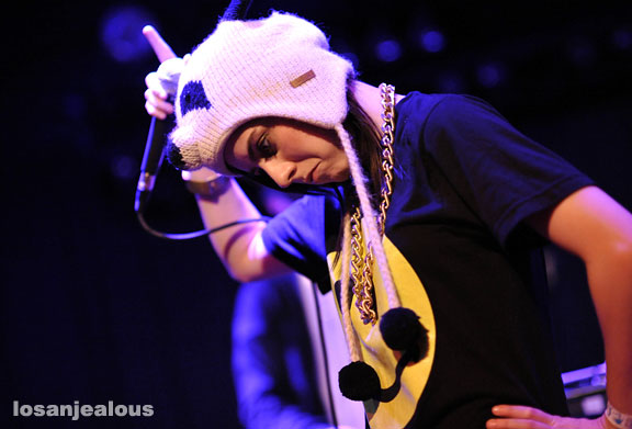 Lady Sovereign, The Echo, February 6, 2009