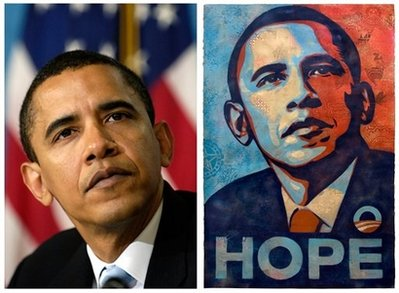 The Great Associated Press vs Shepard Fairey Obama Hope Poster Debate