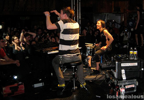 Matt and Kim, Live at the Troubadour, February 4