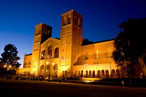 Sparks at Royce Hall, Valentine's Day
