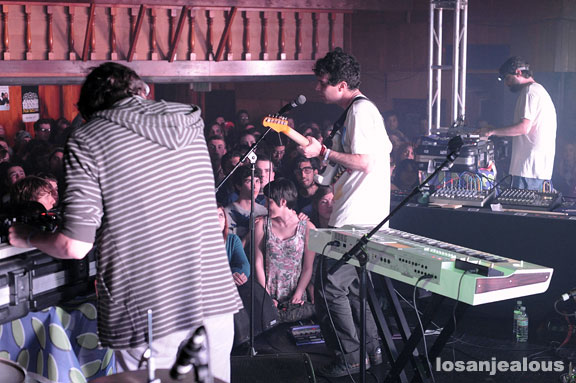 Animal Collective, Troubadour, February 27, 2009
