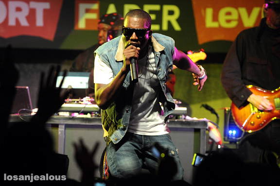 SXSW '09: Kanye West & Guests @ Fader Fort