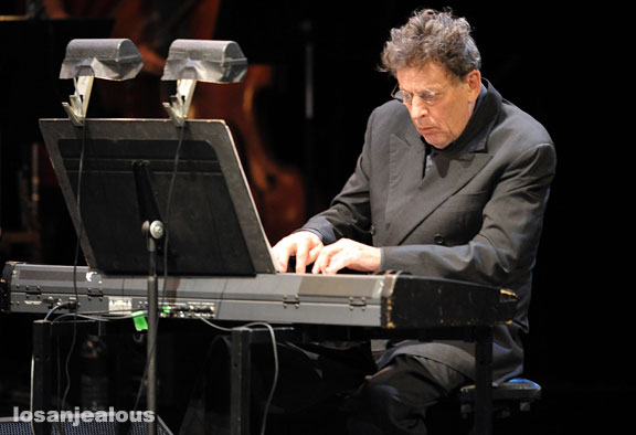 Philip Glass Performs on Colbert Report