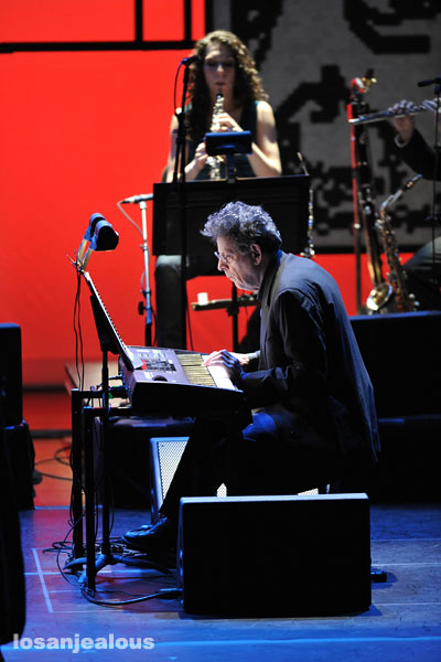 Philip Glass Ensemble perform Book of Longing @ Garrison Theater, Claremont, March 1, 2009