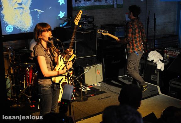 SXSW '09: Sky Larkin @ Latitude 30