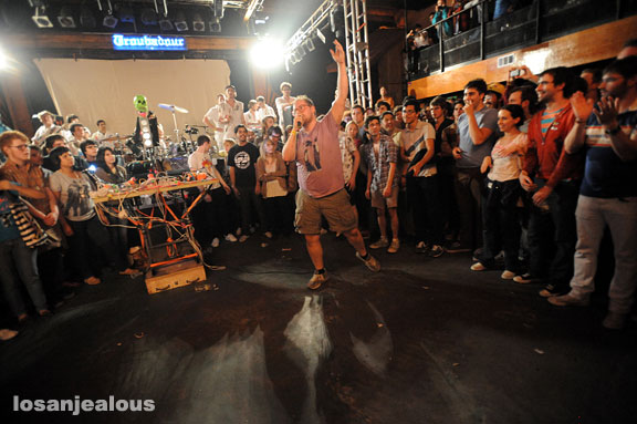 Dan Deacon @ Troubadour, April 22, 2009