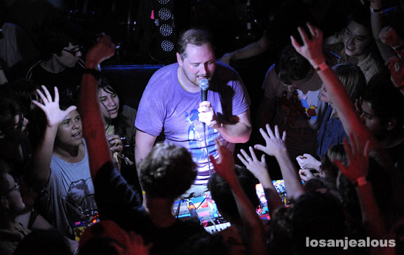Dan Deacon, Troubadour, April 22, 2009