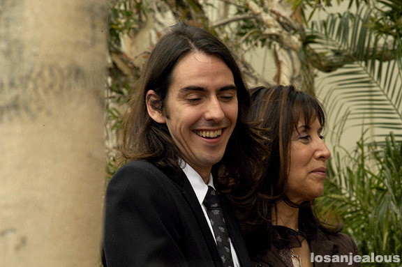 Capitol Records, 14 April 2009: George Harrison's Walk of Fame Star Ceremony: The Star Is Revealed At Last